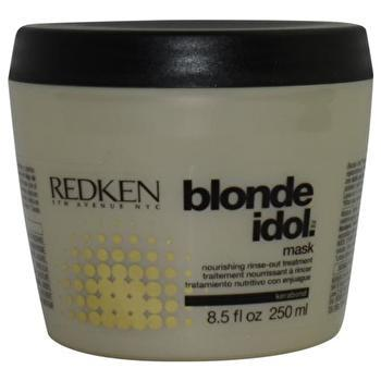 Redken Blonde Idol Mask Nourishing Rinse-Out Treatment (For Damaged, Blonde Color-Treated Hair) 250ml/8.5oz-Haircare-Cherry Birch