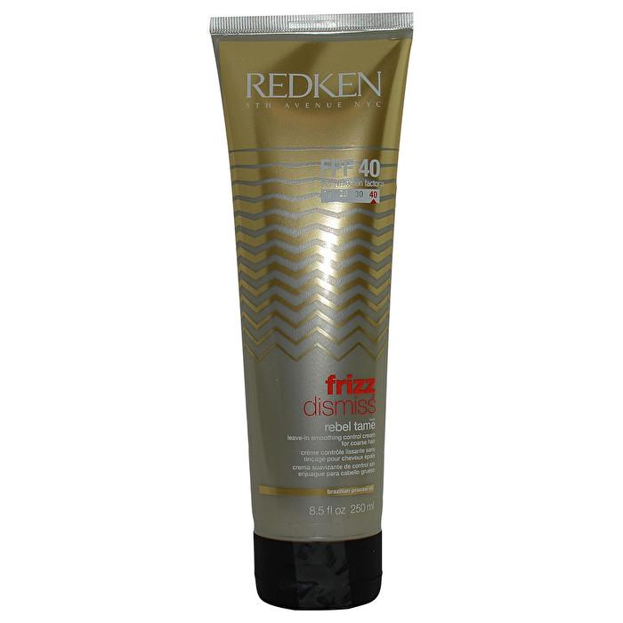 Redken Frizz Dismiss FPF40 Rebel Tame Leave-In Smoothing Control Cream (For Coarse Hair) 250ml/8.5oz-Haircare-Cherry Birch