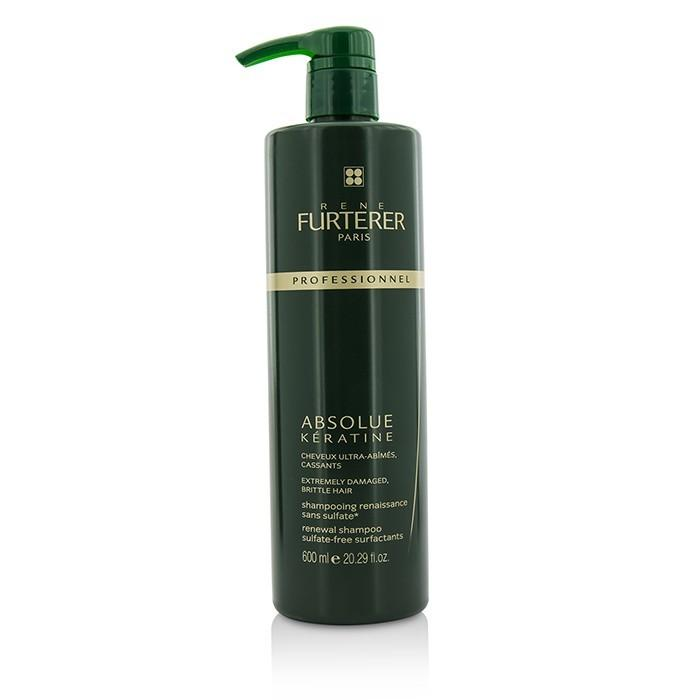 Rene Furterer Absolue Keratine Restoring Ritual Renewal Shampoo (Extremely Damaged, Brittle Hair) 600ml/20.2oz-Haircare-Cherry Birch