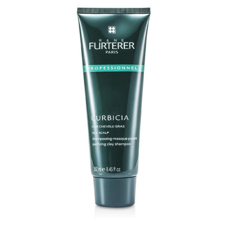Rene Furterer Curbicia Purifying Clay Shampoo - For Oily Scalp (Salon Product) 250ml/8.45oz-Haircare-Cherry Birch