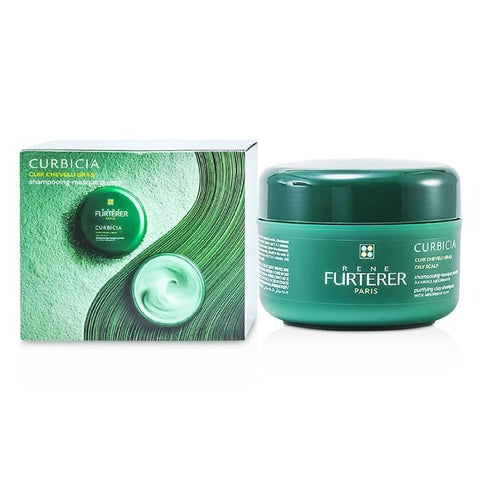 Rene Furterer Curbicia Purifying Clay Shampoo (Oily Scalp) 200ml/7.2oz-Haircare-Cherry Birch