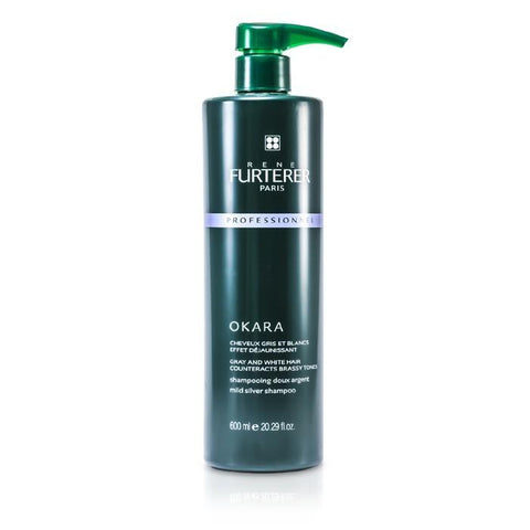 Rene Furterer Okara Mild Silver Shampoo - For Gray and White Hair (Salon Product) 600ml/20.29oz-Haircare-Cherry Birch