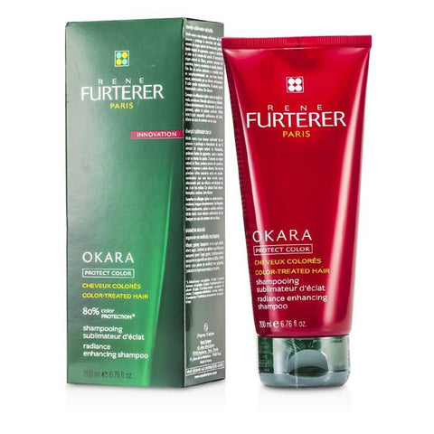 Rene Furterer Okara Radiance Enhancing Shampoo (For Color-Treated Hair) 200ml/6.76oz-Haircare-Cherry Birch