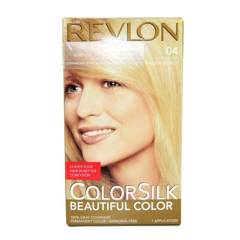 Revlon Colorsilk Ultra Light Natural Blonde 04-Haircare-Cherry Birch