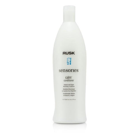 Rusk Sensories Calm Guarana and Ginger Nourishing Conditioner 1000ml/33.8oz-Haircare-Cherry Birch
