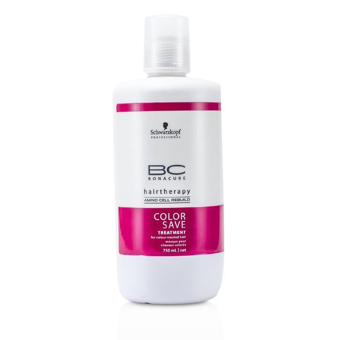Schwarzkopf BC Color Save Treatment (For Colour-Treated Hair) 750ml/25oz-Haircare-Cherry Birch