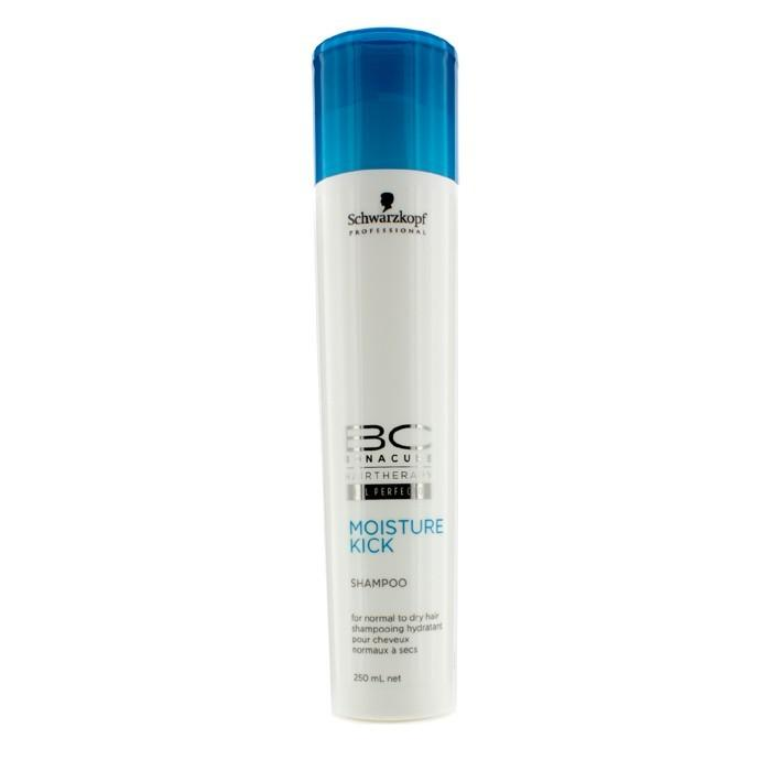 Schwarzkopf BC Moisture Kick Shampoo (For Normal to Dry Hair) 250ml/8.5oz-Haircare-Cherry Birch