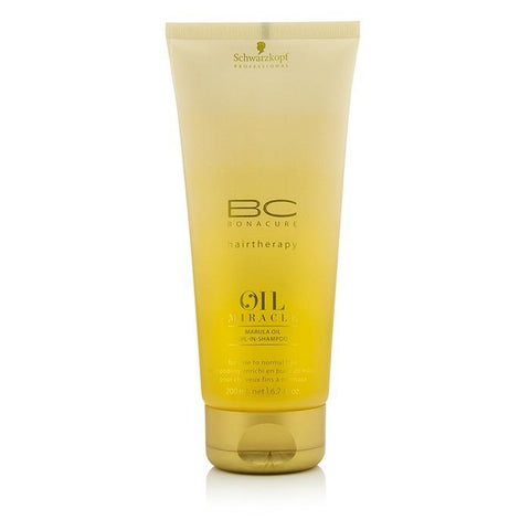 Schwarzkopf BC Oil Miracle Marula Oil Oil-In-Shampoo (For Fine to Normal Hair) 200ml/6.7oz-Haircare-Cherry Birch