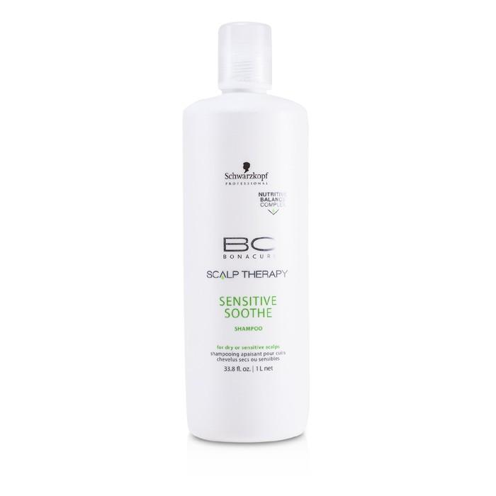 Schwarzkopf BC Scalp Therapy Sensitive Soothe Shampoo (For Dry or Sensitive Scalps) 1000ml/33.8oz-Haircare-Cherry Birch