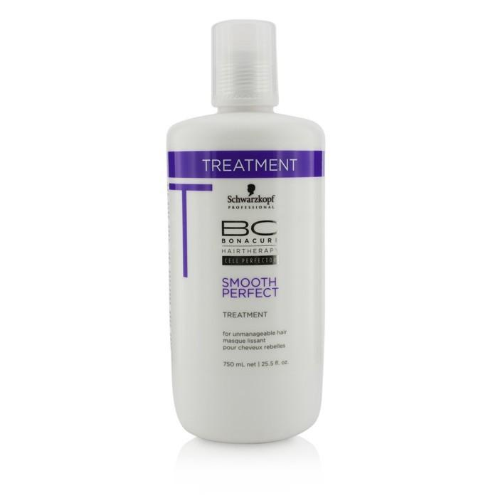 Schwarzkopf BC Smooth Perfect Treatment (For Unmanageable Hair) 750ml/25.4oz-Haircare-Cherry Birch