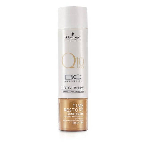 Schwarzkopf BC Time Restore Q10 Plus Conditioner (For Mature and Fragile Hair) 200ml/6.7oz-Haircare-Cherry Birch