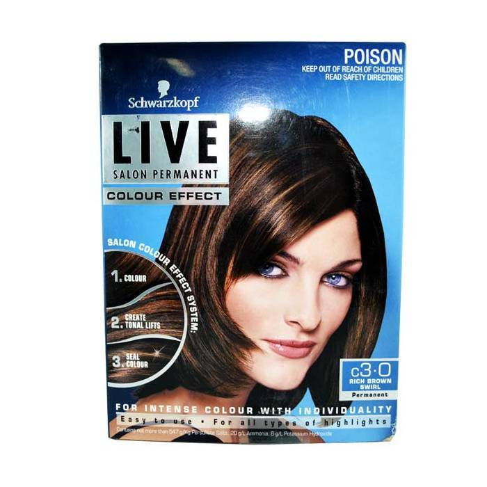 Schwarzkopf Live Rich Brown Swirl 3.0-Haircare-Cherry Birch