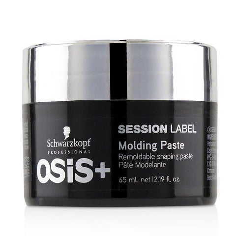 Schwarzkopf Osis+ Session Label Molding Paste (Remoldable Shaping Paste) 65ml/2.19oz-Haircare-Cherry Birch