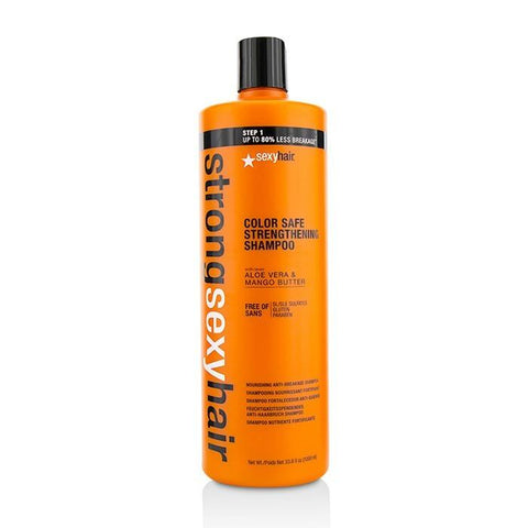 Sexy Hair Concepts Strong Sexy Hair Strengthening Nourishing Anti-Breakage Shampoo 1000ml/33.8oz-Haircare-Cherry Birch