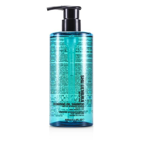 Shu Uemura Cleansing Oil Shampoo Anti-Oil Astringent Cleanser (For Oily Hair & Scalps) 400ml/13.4oz-Haircare-Cherry Birch