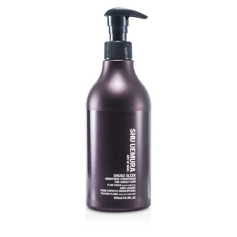Shu Uemura Shusu Sleek Smoothing Conditioner (For Unruly Hair) (Salon Product) 500ml/16.9oz-Haircare-Cherry Birch
