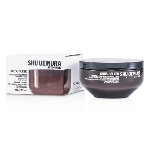 Shu Uemura Shusu Sleek Smoothing Treatment Masque (For Unruly Hair) 200ml/6oz-Haircare-Cherry Birch
