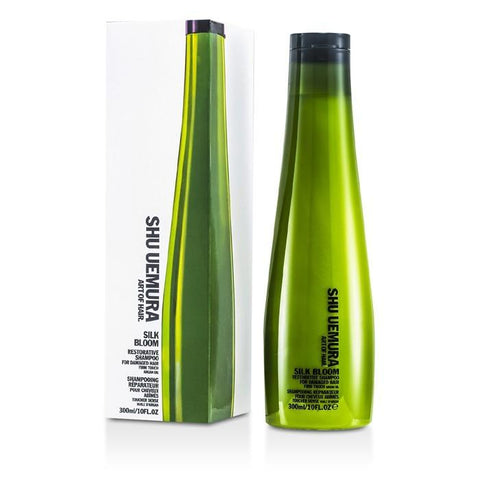 Shu Uemura Silk Bloom Restorative Shampoo (For Damaged Hair) 300ml/10oz-Haircare-Cherry Birch