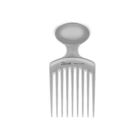 Silver Afro Comb-Combs-Cherry Birch