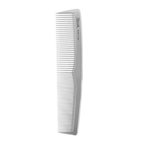 Silver Large Styling Comb-Combs-Cherry Birch