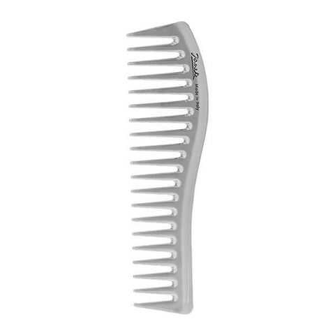 Silver Large Wide Tooth Comb-Combs-Cherry Birch