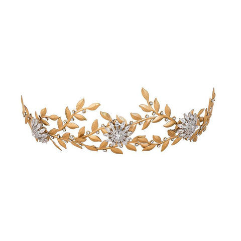 Stephanie Browne Stars in my Eyes Tiara-Accessories-Cherry Birch