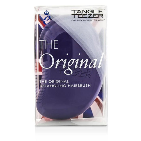 Tangle Teezer The Original Detangling Hair Brush - # Plum Delicious (For Wet & Dry Hair) 1pc-Haircare-Cherry Birch