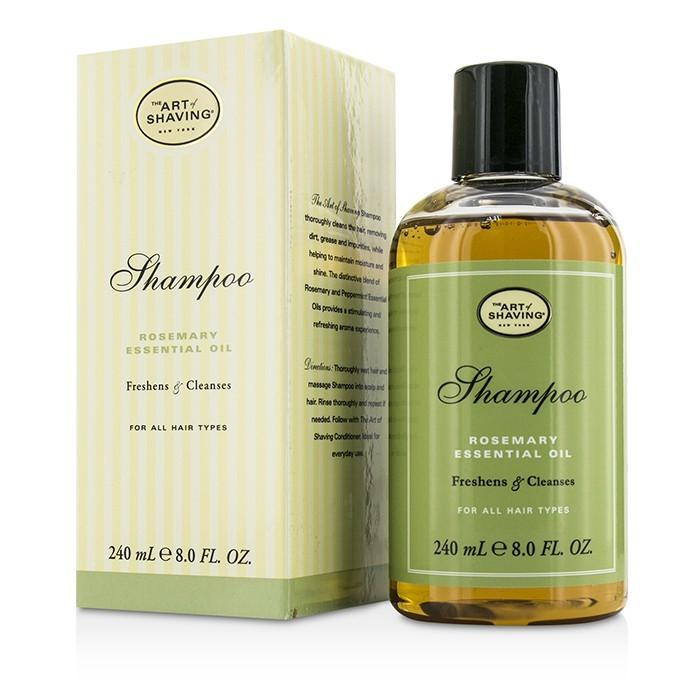 The Art Of Shaving Shampoo - Rosemary Essential Oil (For All Hair Types) 240ml/8oz-Haircare-Cherry Birch
