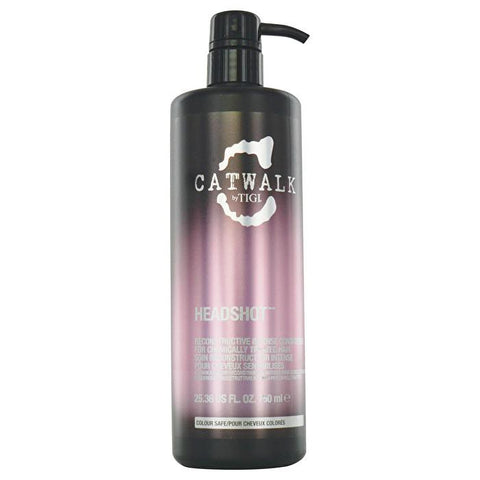 Tigi Catwalk Headshot Reconstructive Intense Conditioner (For Chemically Treated Hair) 750ml/25.36oz-Haircare-Cherry Birch
