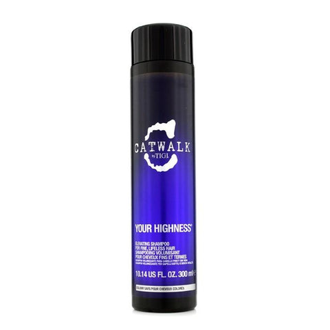 Tigi Catwalk Your Highness Elevating Shampoo - For Fine, Lifeless Hair (New Packaging) 300ml/10.14oz-Haircare-Cherry Birch