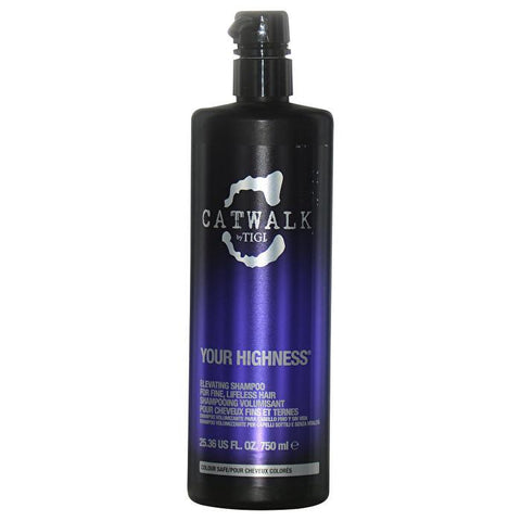 Tigi Catwalk Your Highness Elevating Shampoo - For Fine, Lifeless Hair (New Packaging) 750ml/25.36oz-Haircare-Cherry Birch