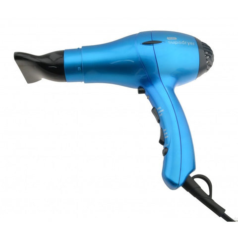 Wahl Supadryer 1800 Ionic Hair Dryer Blue-Hair Dryers-Cherry Birch
