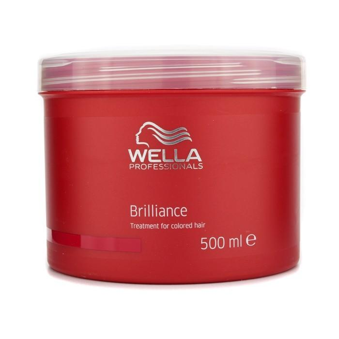 Wella Brilliance Treatment (For Colored Hair) 500ml/17oz-Haircare-Cherry Birch