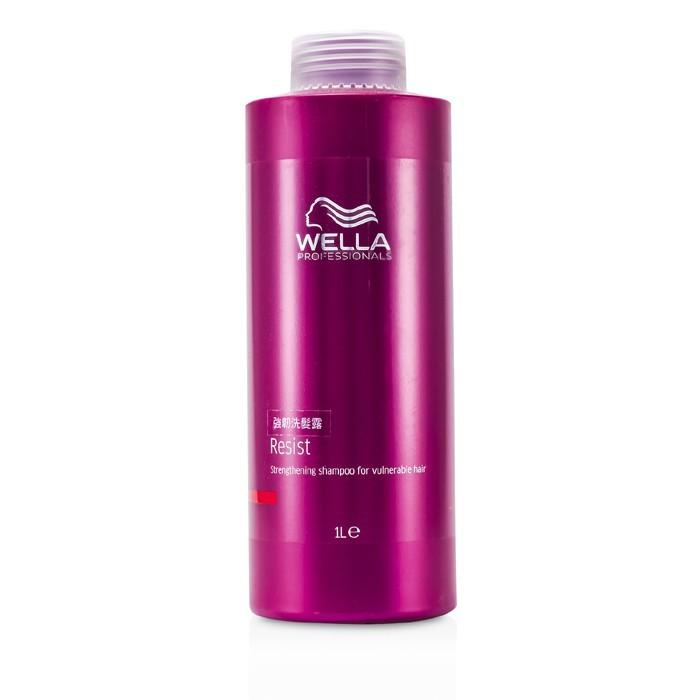 Wella Resist Strengthening Shampoo (For Vulnerable Hair) 1000ml/33.8oz-Haircare-Cherry Birch