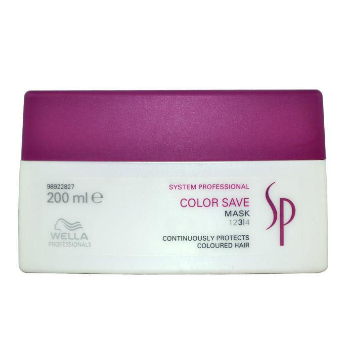 Wella SP Color Save Mask (For Coloured Hair) 200ml/6.67oz-Haircare-Cherry Birch