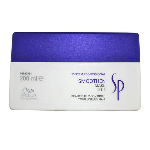 Wella SP Smoothen Mask (For Unruly Hair) 200ml/6.67oz-Haircare-Cherry Birch