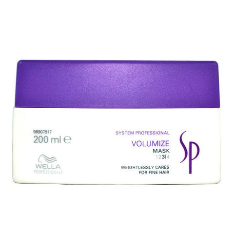 Wella SP Volumize Mask (For Fine Hair) 200ml/6.67oz-Haircare-Cherry Birch