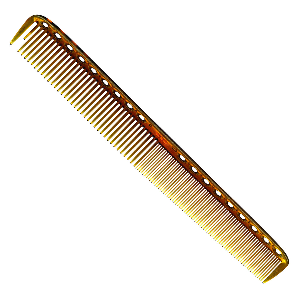 YS Park 335 Long Fine Tooth Cutting Comb-Combs-Cherry Birch
