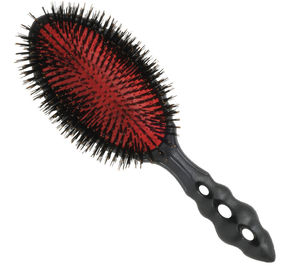 YS Park Beetle Hairbrush - Pure Boar-Brushes-Cherry Birch