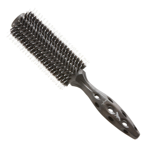 YS Park Small Carbon Tiger 510 Hairbrush-Brushes-Cherry Birch
