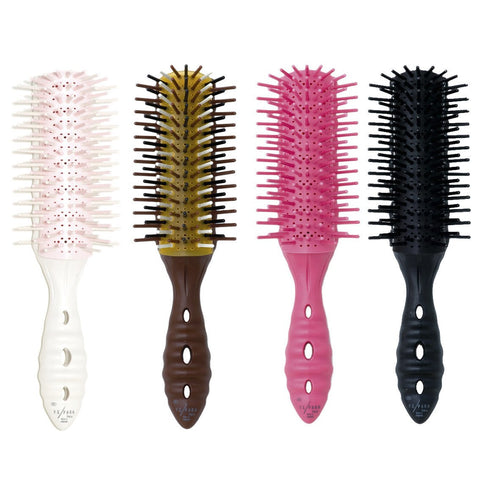 YS Park Soft Dragon Air Vent Hairbrush-Brushes-Cherry Birch