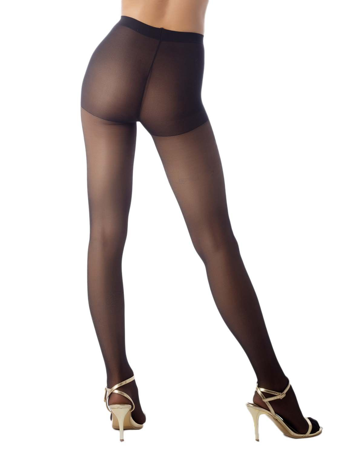Women's Flower Vine Print Tights Soft 5 DEN Ultra Sheer Tights Pantyhose, Size: One Size, Black