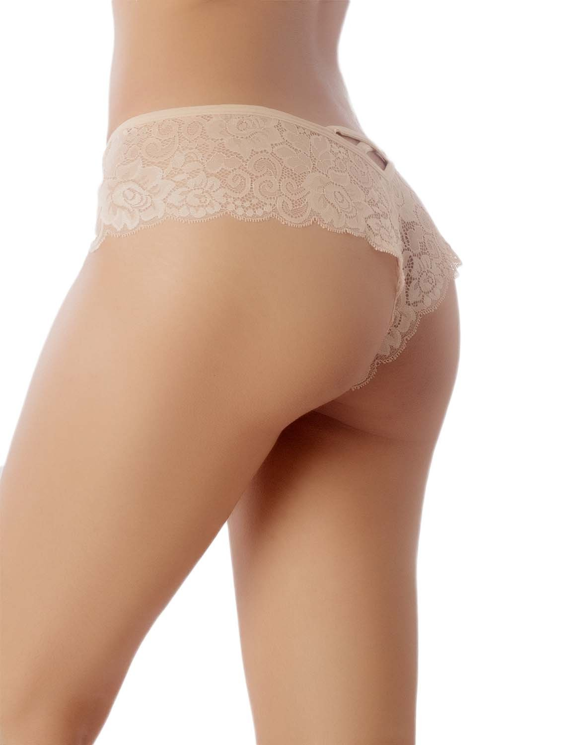 Lace See-Through Low-Waist Underwear