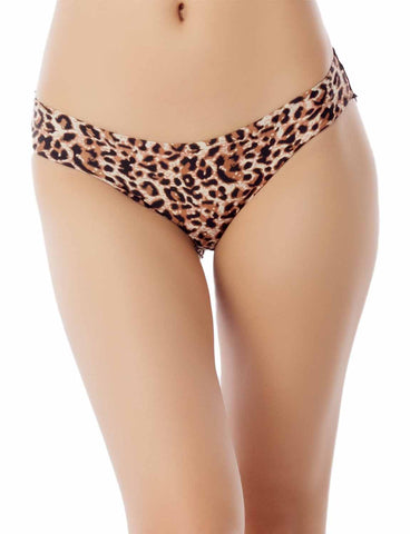 iB-iP Womens Keyhole lace mesh See Through Floral Winged Low Rise Hipster Panty