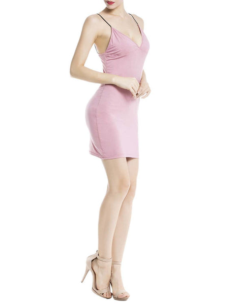 Women's Cotton Slips For Under Dress Spaghetti Strap Mid-Thigh Full Slip, Size: 2XL, Coral