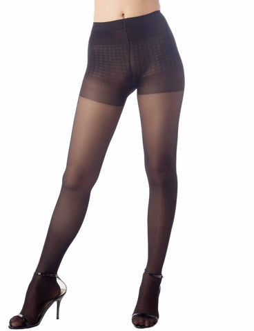 iB-iP Women's Hosiery Stretch Soft Ice Silk 5 DEN Ultra Sheer Tights Pantyhose