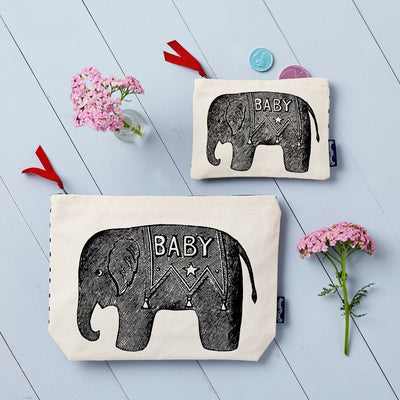 Baby Elephant Purse - Chase and Wonder - Proudly Made in Britain