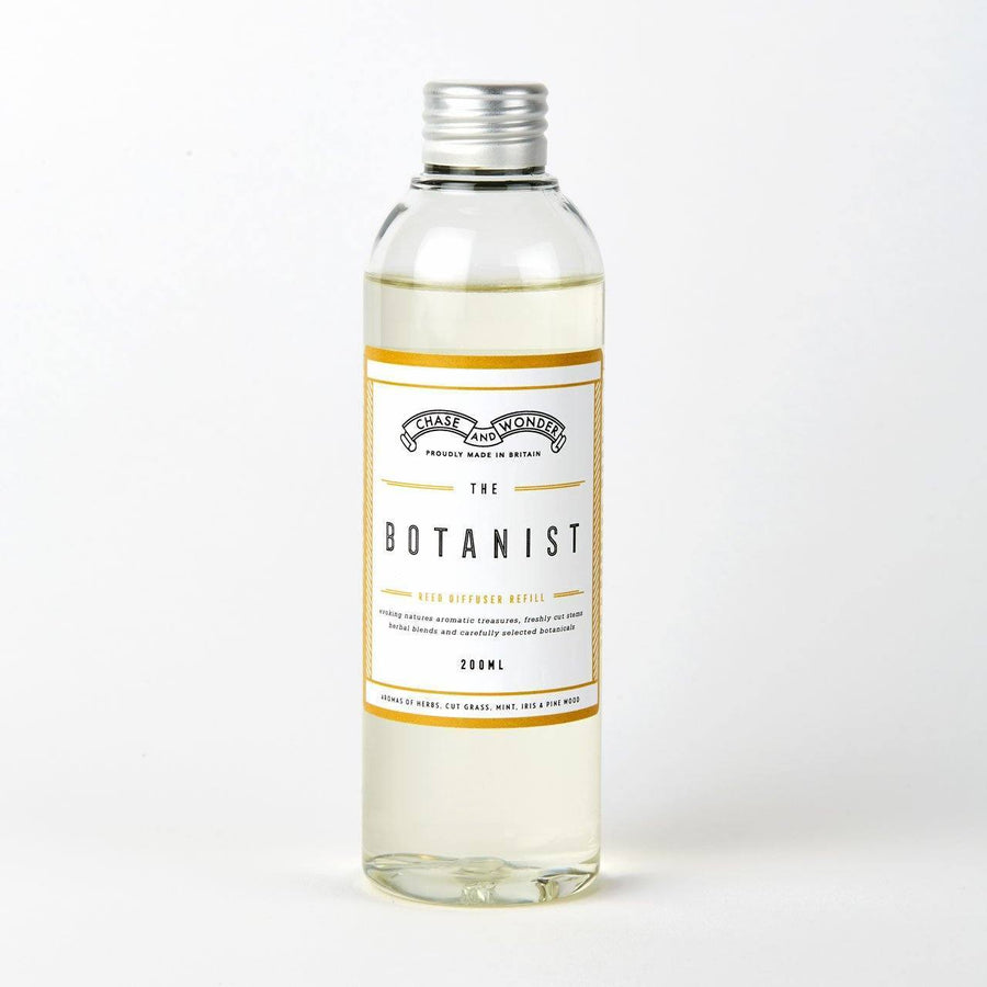 The Botanist Reed Diffuser Refill - Chase and Wonder - Proudly Made in Britain