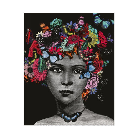 Butterfly Lady Print