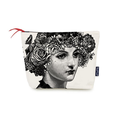 Flower Lady Wash Bag